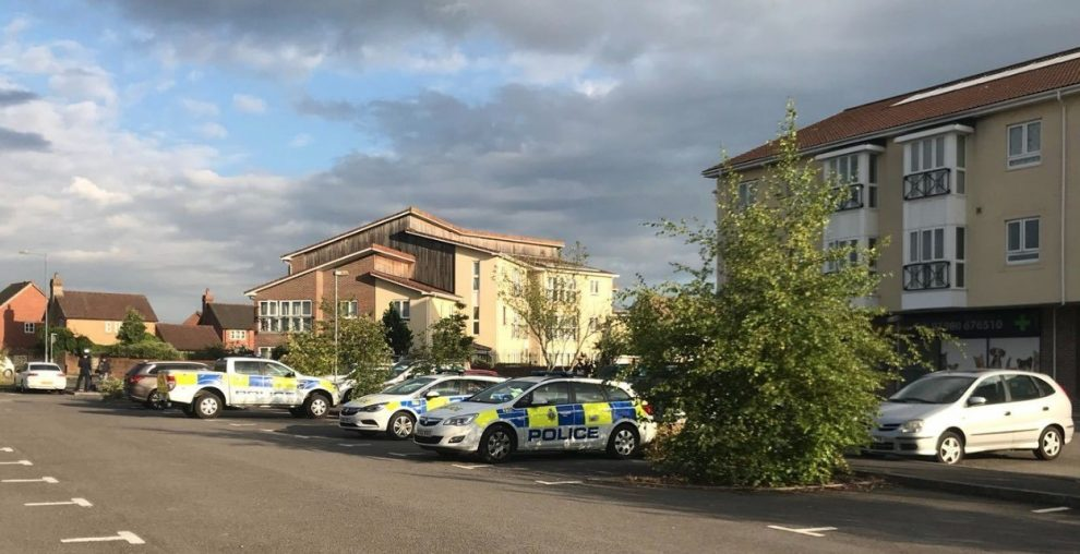 major incident after two people exposed to an unknown substance in amesbury
