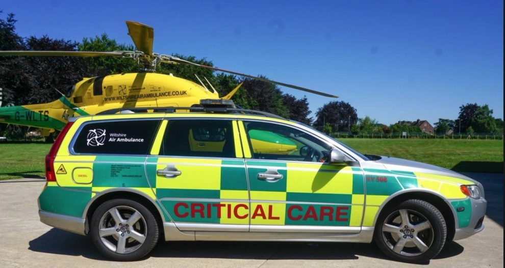 military seize air ambulance car from chippenham car park as part of nerve agent probe