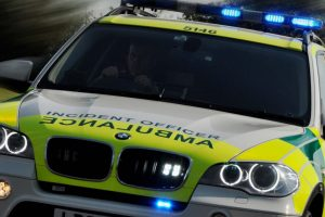 motorcycle rider struck by car in coventry