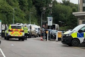 police car seized from chippenham car park as part of nerve agent probe