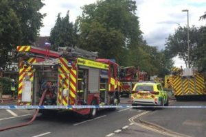 police launch arson probe following farnborough house fire