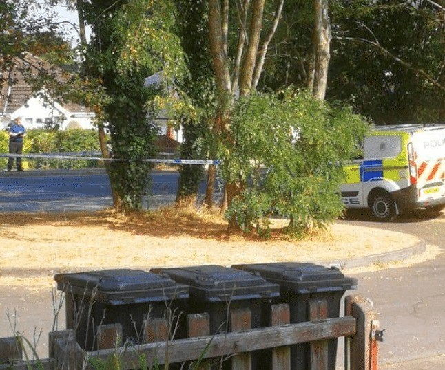 police man hunt for two rape suspects following late night attack in hedge end southampton