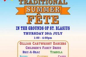 st blasius summer fete in shanklin