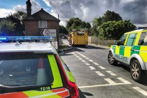 two hurt in headcorn collision