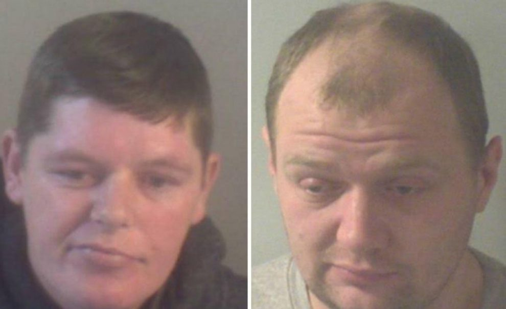 two jailed after they attacked a victim with a knife and a chair leg