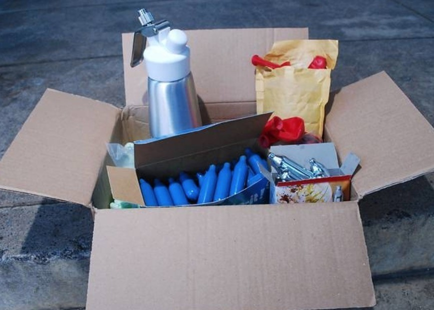 two teenagers arrested for supplying nitrous oxide