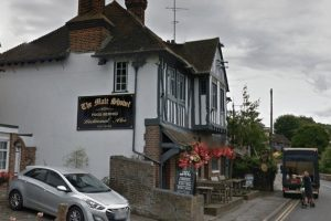 woman slashed across the face in sleepy eynsford villiage