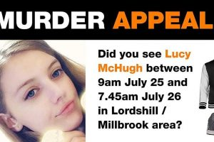 10000 reward offered for information in lucy murder