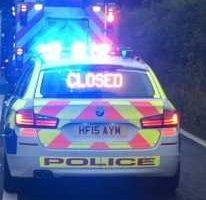 a31 in dorset closed in both directions near bere regis following serious collision