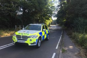 aldershot road closed for collision investigation work