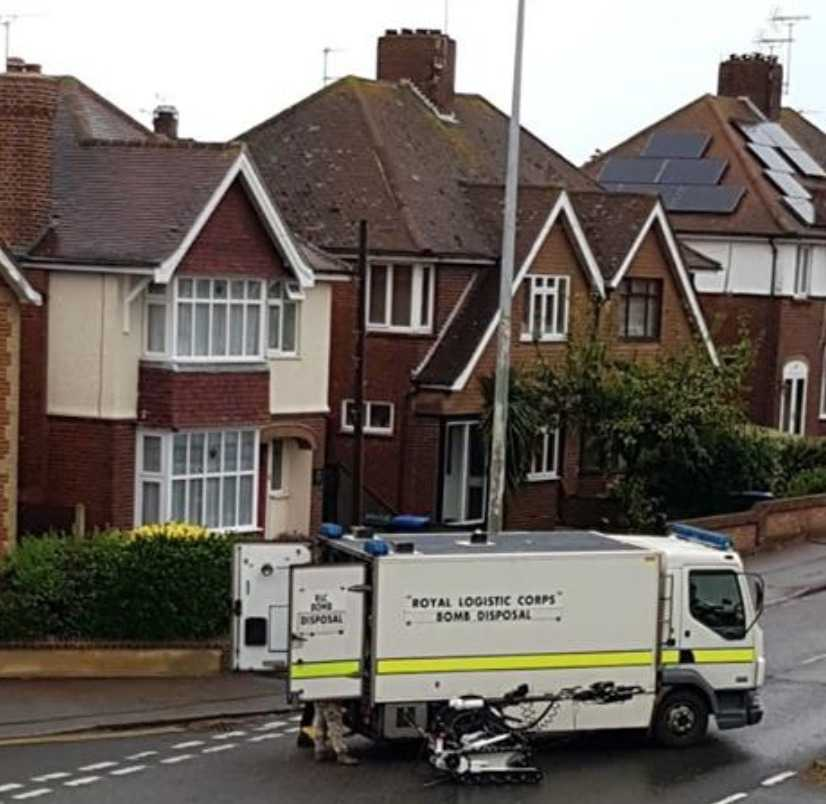 bomb disposal called to cannabis factory found in kent
