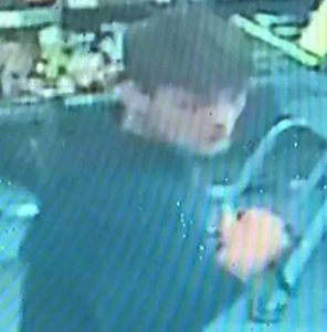 Cctv Image Of A Man Police Would Like To Speak To Following The Robbery In Romsey