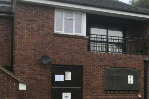crack house flat closed by police in ashford