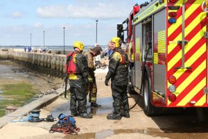 emergency crews called to ryde harbour