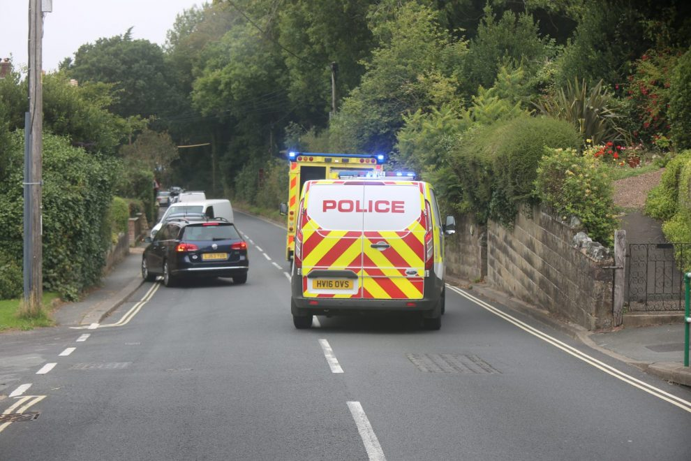 emergency services called to ventnor