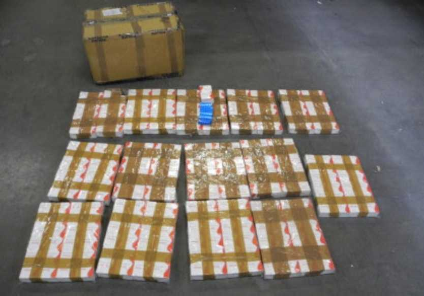 man jailed for nealry five years after he smuggled hundreds of thousands of cigarettes and drugs into the uk