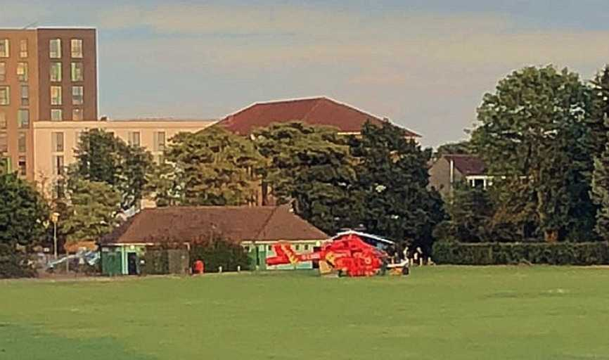 man stabbed in sidcup recreation ground
