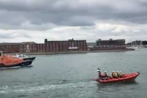 man still missing after fall from wightlink ferry in portsmouth