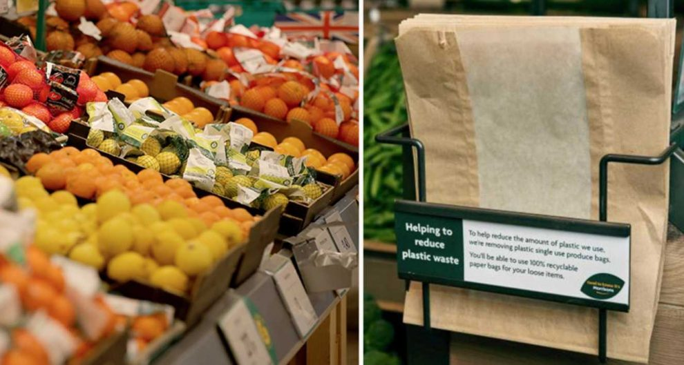Morrisons Supermarket  Are Bringing Back Brownpaper Bags