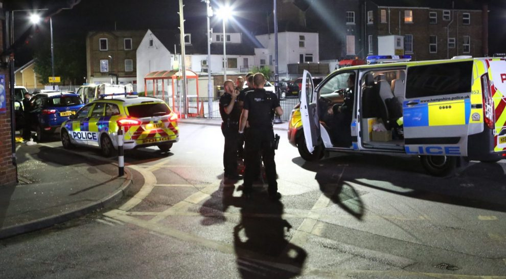 no arrests in east cowes ferry stop and search