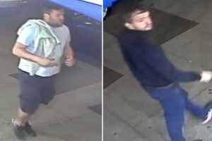 police are appealing for information to identify two men who are wanted