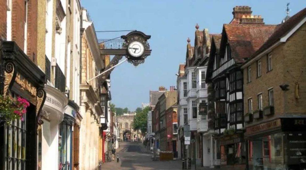 police arrest man for grievous bodily harm in winchester following street assault