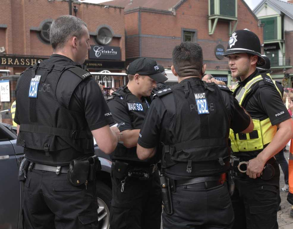 police carry out terror raids in west midlands