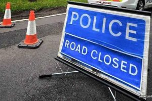 police close gosport road following collision