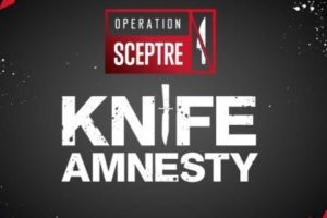 police put out knife amnesty bins in aldershot