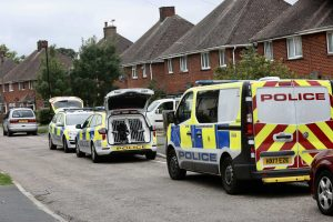police surround newport property