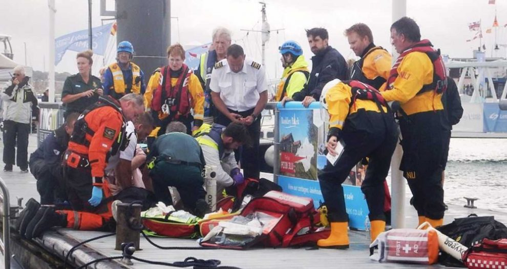 sailor dies in freak accident during cowes week racing off the isle of wight