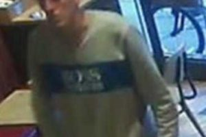 scumbag steals charity collection box from portsmouth greggs