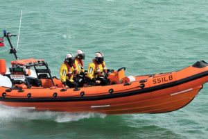 three children rescued from sea in sandown