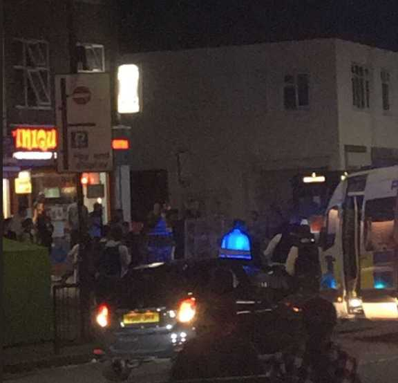 three people shot in brent