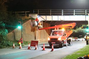 morton common bridge closed for annual inspection diversions in place
