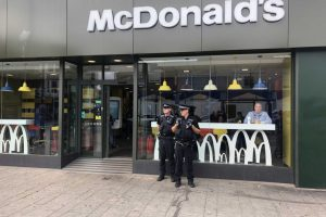 thirteen year old from fratton arrested after mcdonalds worker sprayed in eyes in portsmouth