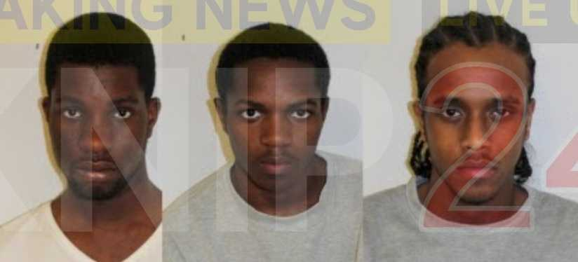 trio who used acid and knives to rob victims are jailed for a total of 30 years