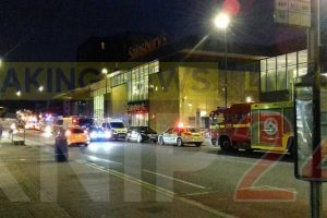 a dozen people have been rushed to hospital following chemical alert