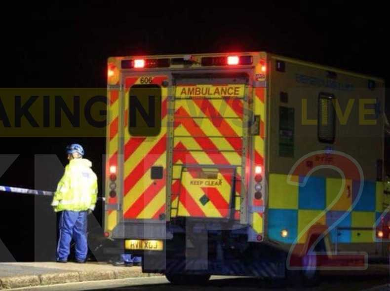 man pulled from water by coastguard rescue teams in sandown isle of wight