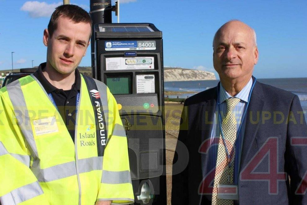 island parking payment provider revealed 255000 transactions took place last year