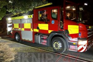 suspected fire in newport turns out to be steam from boiler