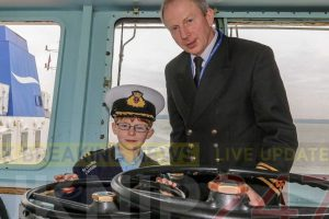 young boys dream come true as wightlink make him a captain