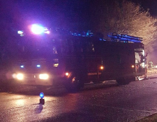 a woman has died following a fire in romsey on monday morning
