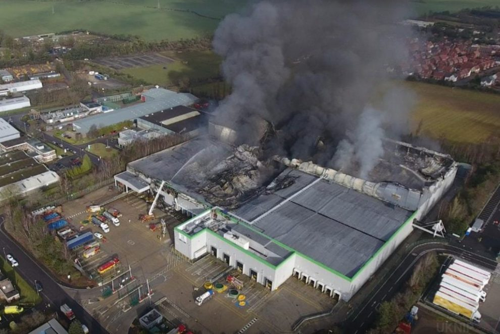 breaking news live blog as andover fire rages on