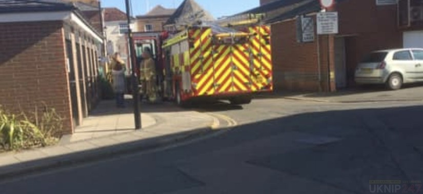 fire crew called cowes