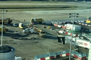 major fuel leak at gatwick airport causes long delays