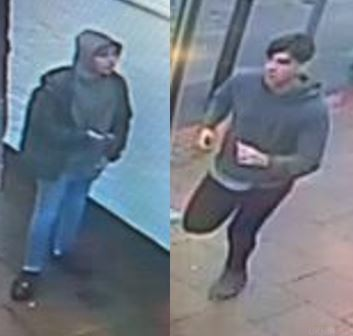 officers have released cctv images following an assault in andover