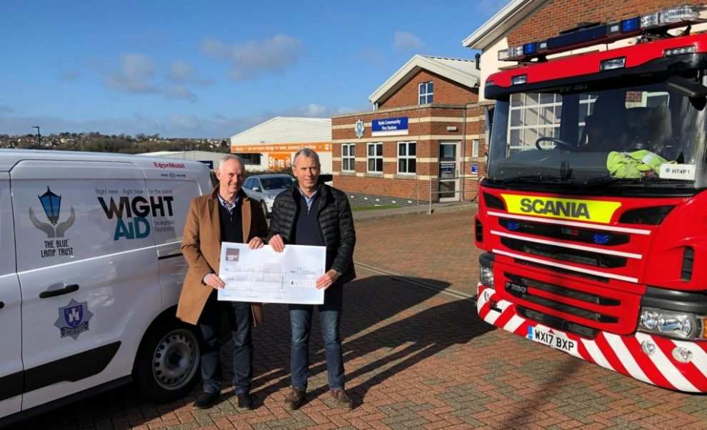 wight aid donation to the bobby scheme
