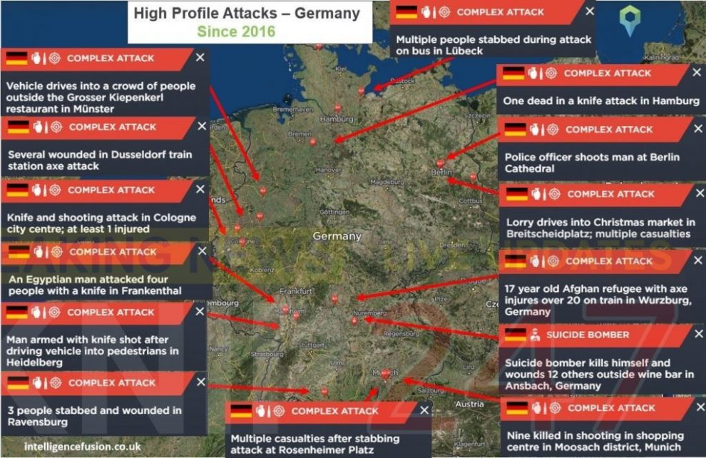 11 arrested over planing terror attack in germany