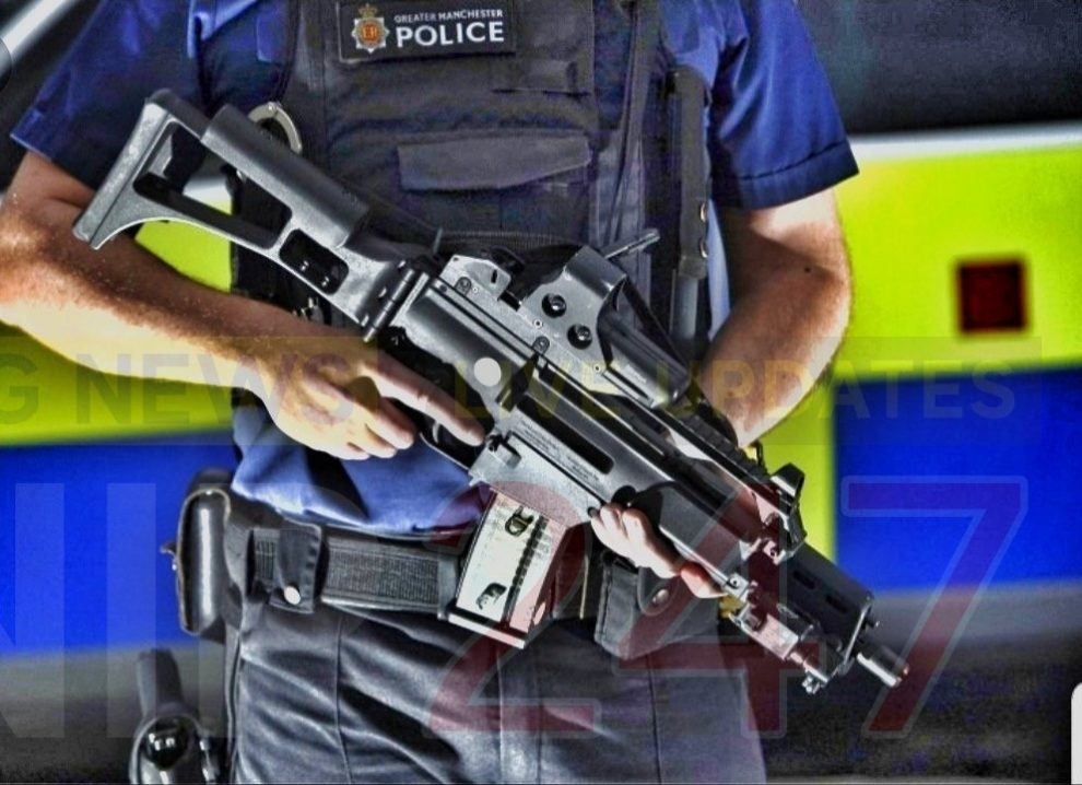 Armed Response Officers Save Two Girl From Choking